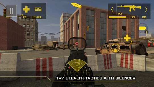 Zombie Defense 2 Mod Apk: Episodes (Unlimited Ammo/God Mode) 4