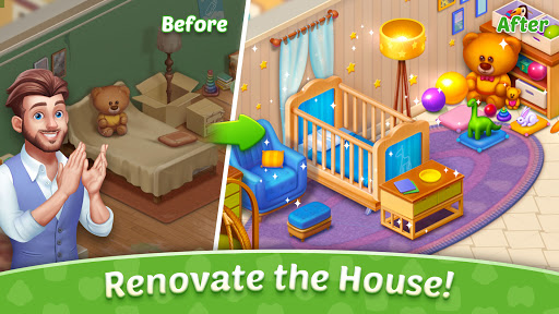 Baby Manor: Baby Raising Simulation & Home Design  screenshots 3