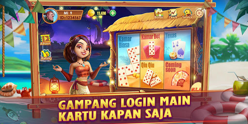 Domino Gaple QiuQiu 99 Catur Poker Online Gratis  screenshots 1