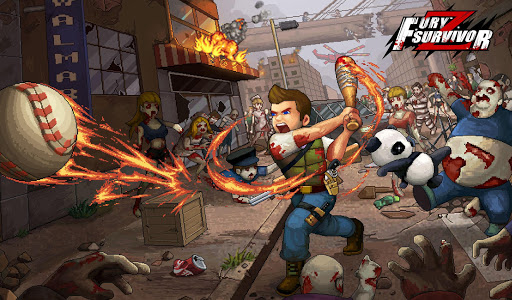 Fury Survivor: Pixel Z APK MOD (Astuce) screenshots 1