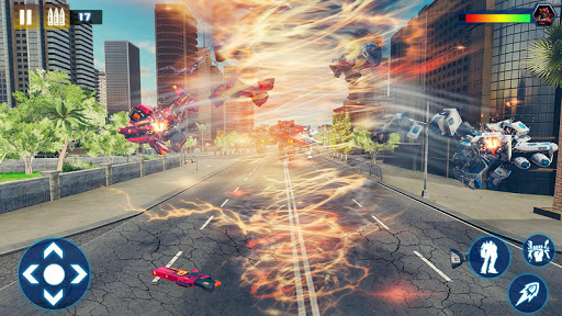 Tornado Robot Car Transform: Hurricane Robot Games 1.0.5 Screenshots 16