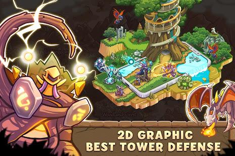 Empire Warriors: Tower Defense TD Strategy Games Mod Apk