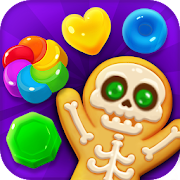 Spooky Cookie Party : Sweet Blast Puzzle Games