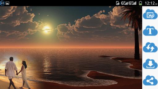 Amazing Night Photo Frame modavailable screenshots 2