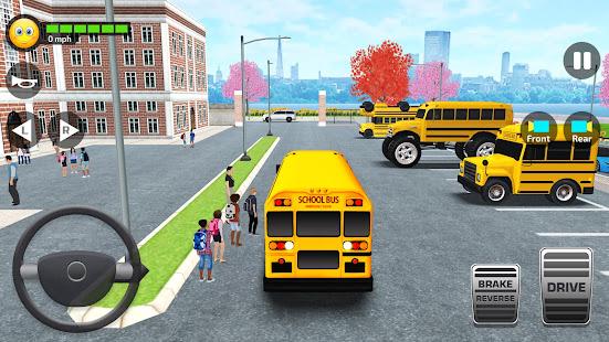 School Bus Simulator - Driving Simulator Games 3.3 screenshots 1
