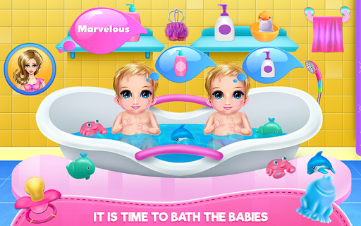 New Born Twins Caring screenshots 3