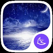 Shining moon theme