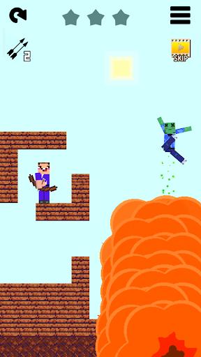 Mr Noob vs 1000 zombies - Lucky Block story apktram screenshots 8