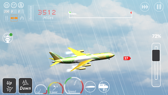 Transporter Flight Simulator ✈ Screenshot