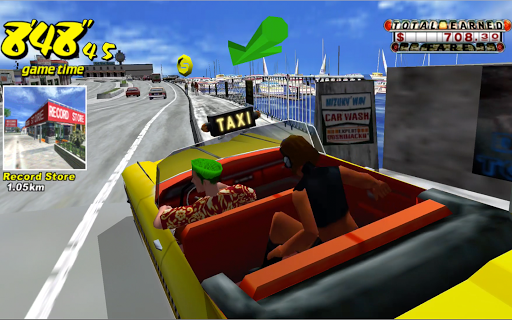 Crazy Taxi Classic android2mod screenshots 5
