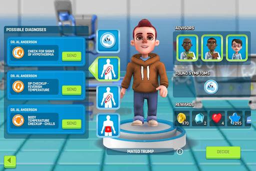 Dream Hospital - Health Care Manager Simulator apkpoly screenshots 7