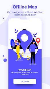 Free offline navigation & offline gps route track