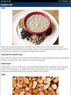 Osteoporosis Low Bone Density Weak Bones Diet Help