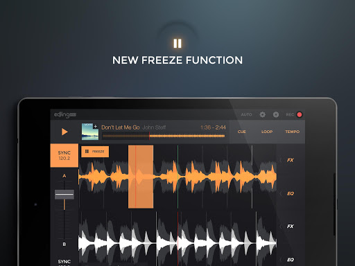 edjing PRO LE - Music DJ mixer  Screenshots 9