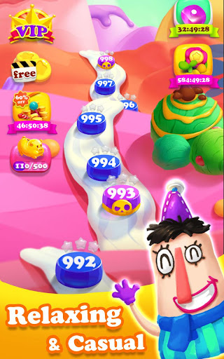 Crazy Candy Bomb - Sweet match 3 game 4.6.1 screenshots 9