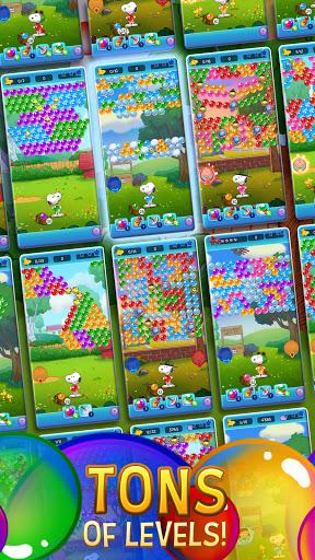 Download Snoopy POP! - Bubble Shooter: Bubble Pop Game mod apk 2