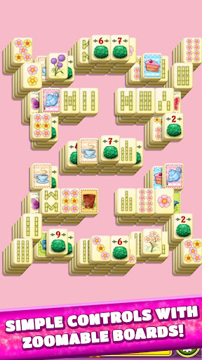 Mahjong Spring Flower Garden screenshots 17