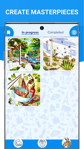 Happy Canvasu2122 - Color by Number Book 2.1.2 screenshots 3