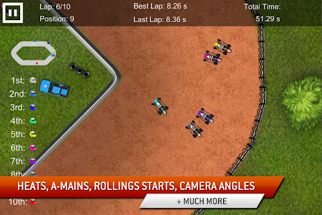 Dirt Racing Sprint Car Game 2 Screenshot