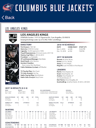Columbus Blue Jackets Interactive Media Guide For PC Windows (7, 8, 10, 10X) & Mac Computer Image Number- 19