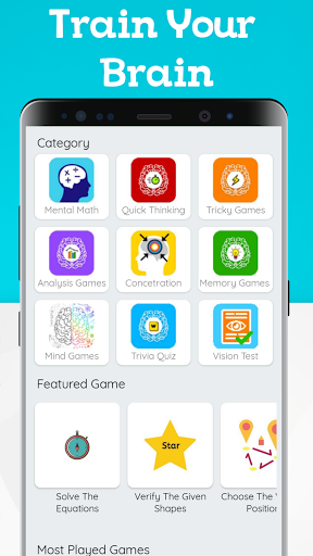 Brain Games -  Logical IQ Test & Math Puzzle Games 1.9 screenshots 1