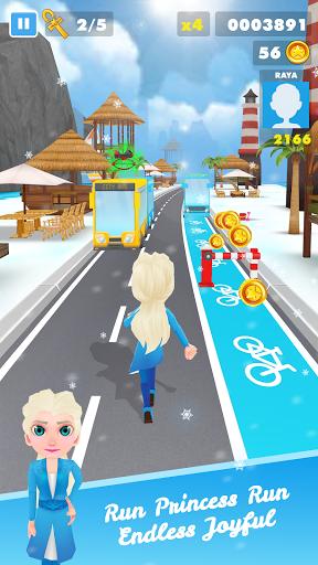 Subway Princess Runner Surf  screenshots 1