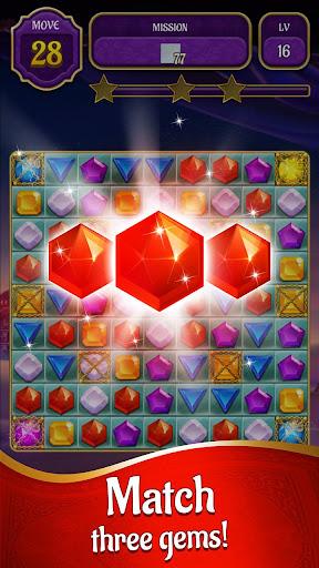 Genies & Gold - Match 3 Jewel & Gem Adventure 1.2.6 screenshots 4