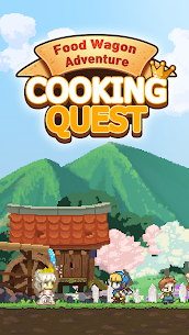Cooking Quest VIP Mod Apk Food Wagon Adventure (Unlimited Gold) 1