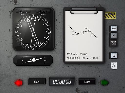 VOR Tracker - IFR Trainer Navigation Simulator Pro  screenshots 9