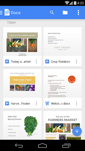 Google Docs 1.20.402.06.40 screenshots 1