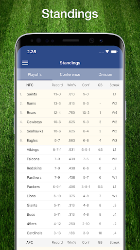 49ers Football: Live Scores, Stats, Plays, & Games 9.1.2 screenshots 8