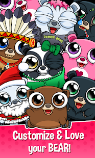 Happy Bear - Virtual Pet Game Screenshot