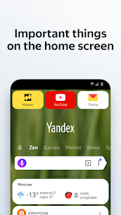 Yandex Browser with Protect 20.9.3.85 Apk + Mod 1