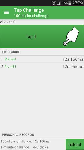 tap challenge screenshot 1