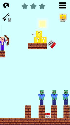 Mr Noob vs 1000 zombies - Lucky Block story apktram screenshots 18