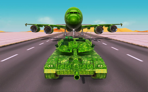 Off-Road Army Vehicle Transporter Truck  screenshots 17