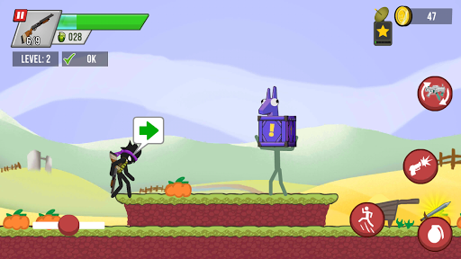 Stickman vs Zombies screenshots 8