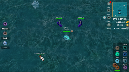 Battle of Sea: Pirate Fight android2mod screenshots 8