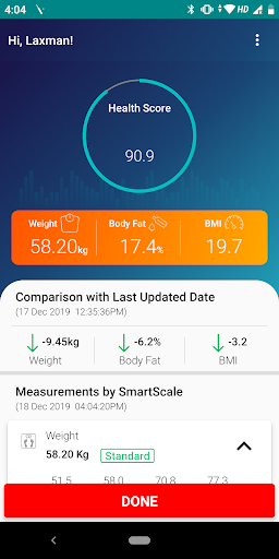 Actofit Smart Scale Lite Review - Measure More Than Just Weight