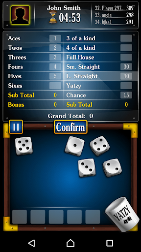 Yachty Dice Game ud83cudfb2 u2013 Yatzy Free  screenshots 17