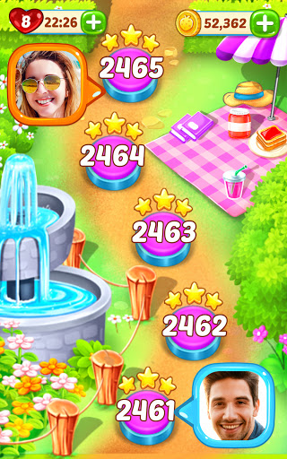 Gummy Paradise - Free Match 3 Puzzle Game 1.5.4 screenshots 6