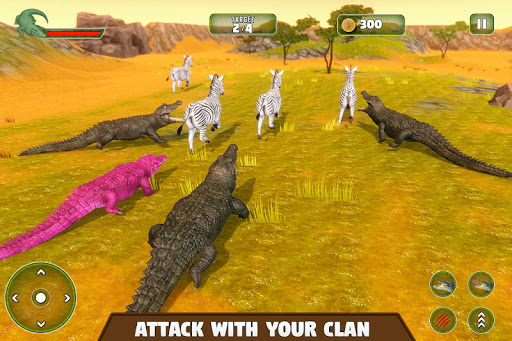 Crocodile Family Simulator Games 2021 1.0 screenshots 8