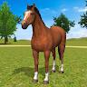 Horse Family Simulator: Horse Jungle Survival Game game apk icon