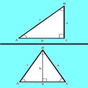 Trigonometry Calculator ( Triangle )