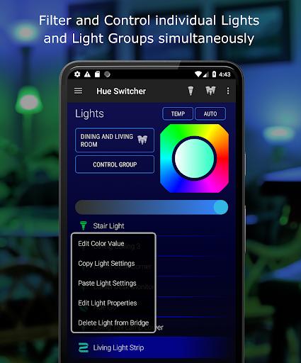 Hue Switcher for Philips Hue Bridges 3.0.33 Screenshots 5
