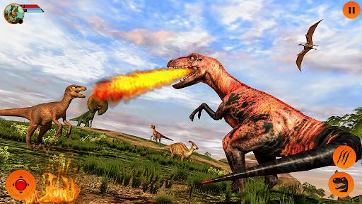 Real Dinosaur Simulator Games u2013 Dino Attack 3D 3.1 screenshots 7