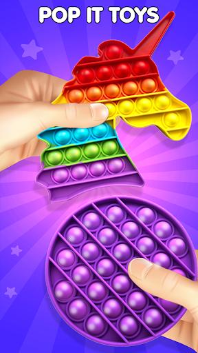 Pop It Sensory Fidget Cube Toys Soulagement  3D APK MOD (Astuce) screenshots 4