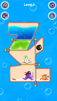 Fish Pin - Water Puzzle & Pull Pin Puzzleのおすすめ画像2