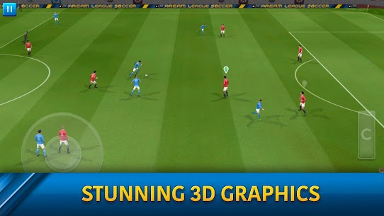 Dream League Soccer DLS v6.14 Mod Apk 6.14 (Unlimited Coins) 7