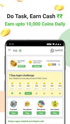 Earn Wallet cash, Free mobile Recharge & coins apktram screenshots 7